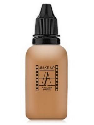 Тон-флюид водостойкий д/аэрографа Make-up-Atelier 4NB нейтральный бежевый 30 мл: фото