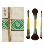 Набор двусторонних кистей для макияжа Boho Luxe Duo Brush Set EcoTools: фото