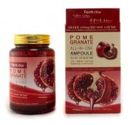 Сыворотка ампульная с экстрактом граната FARMSTAY Pomegranate all-in-one ampoule 250 мл: фото