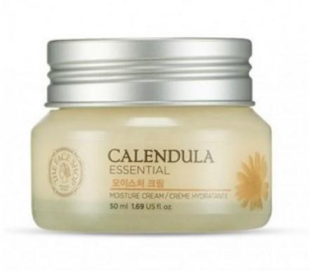 Крем увлажняющий с календулой THE FACE SHOP Calendula essential moisture cream 50 мл: фото