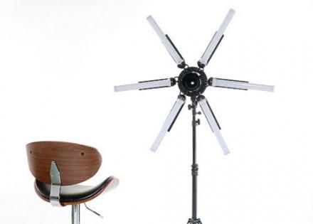 Кольцевая лампа Stellar SuperStar Radial LED Ring Light+ Boom Stand: фото