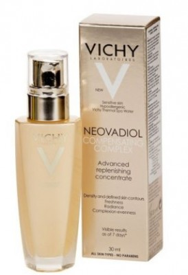 Компенсирующий комплекс-сыворотка для кожи в период менопаузы VICHY Neovadiol 30 мл: фото