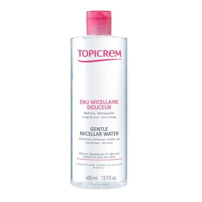 Мягкая мицеллярная вода TOPICREM 400 мл: фото