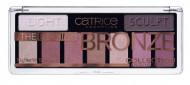 Палетка теней CATRICE The Blazing Bronze Collection Eyeshadow Palette 010 бронзовые: фото