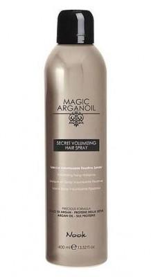 Лак для объемных укладок волос NOOK Магия Арганы Secret Volumizing Hairspray 400 мл: фото