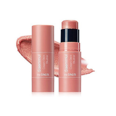 Румяна кремовые THE SAEM Saemmul Cream Stick Blusher PK01 Pink Flame 8гр: фото