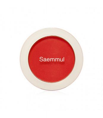 Румяна THE SAEM Saemmul Single Blusher RD04 Carot Red 5гр: фото