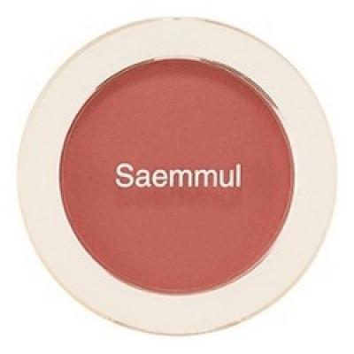 Румяна THE SAEM Saemmul Single Blusher RD03 Trench Rose 5гр: фото
