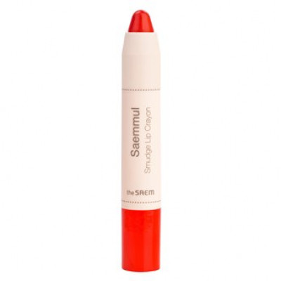 Карандаш-помада для губ THE SAEM Saemmul Smudge Lip Crayon OR02 3,5гр: фото