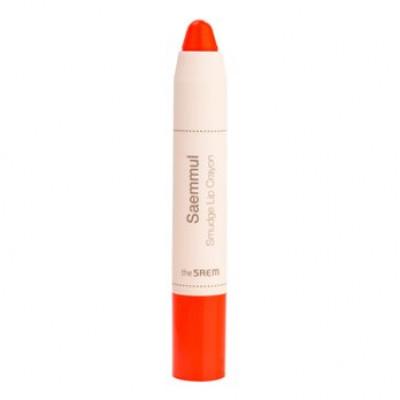 Карандаш-помада для губ THE SAEM Saemmul Smudge Lip Crayon OR01 3,5гр: фото