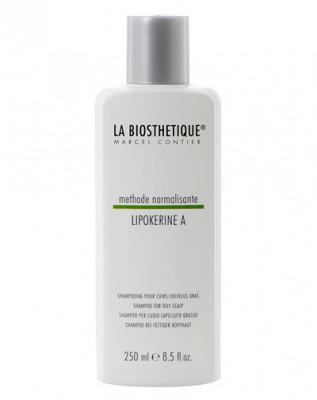 Шампунь для жирной кожи головы La Biosthetique Lipokerine A Shampoo For Oily Scalp 250мл: фото