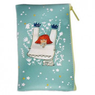 Косметичка YADAH COSMETIC POUCH_FLAT03 BLUE: фото