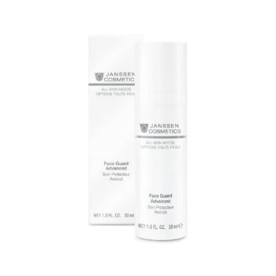 Солнцезащитная легкая основа SPF-30 с UVA-, UVB- и IR-защитой Janssen Cosmetics Face Guard 30мл: фото