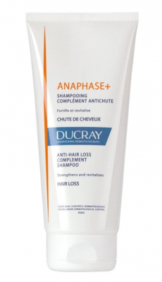 Шампунь стимулирующий Ducray Anaphase+ Shampooing complement antichute 200 мл: фото