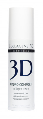 Гель-маска для раздраженной и сухой кожи Collagene 3D HYDRO COMFORT 130 мл: фото