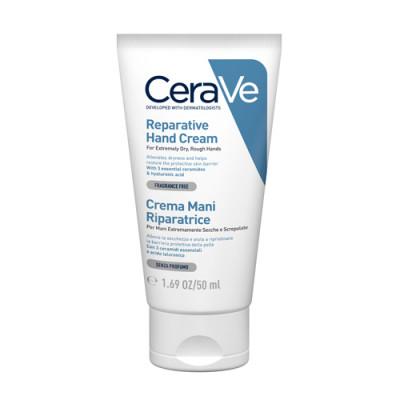 Крем увлажняющий для сухой и очень сухой кожи рук CeraVe 50 мл: фото