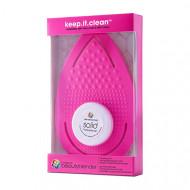 Рукавичка для очищения спонжей и кистей beautyblender keep.it.clean розовый: фото