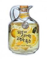 Маска тканевая фруктовая Baviphat Lemon Juicy Mask Sheet (sebum & Vital) 23г: фото