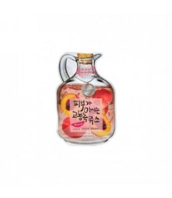 Маска тканевая с персиком Baviphat Peach Juicy Mask Sheet Vital & Lifting: фото