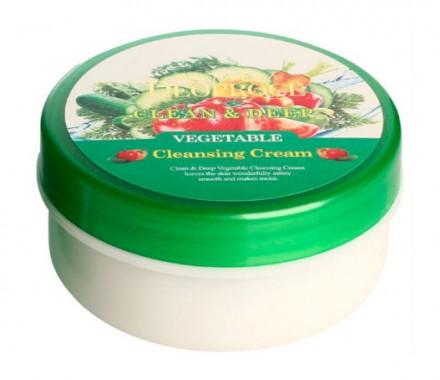Крем для лица очищающий с экстрактами овощей DEOPROCE PREMIUM CLEAN & DEEP VEGETABLE CLEANSING CREAM 300г: фото