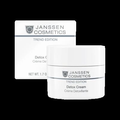 Крем-детокс антиоксидантный Janssen Cosmetics SKIN DETOX CREAM 50мл: фото