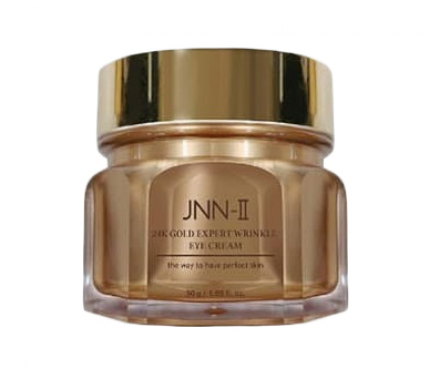 Крем для глаз с 24К золотом JUNGNANI JNN-II 24K GOLD EXPERT WRINKLE EYE CREAM 50г: фото