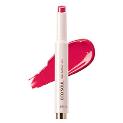 Помада для губ THE SAEM Eco Soul KISS Button Lips 15 Happy Date 2г: фото