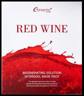 Маска для лица гидрогелевая ESTHETIC HOUSE RED WINE REGENERATING SOLUTION HYDROGEL MASK PACK 5шт: фото