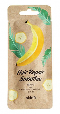 Маска для волос восстанавливающая Банан Skin79 Hair Repair Smoothie Banana 20 мл: фото