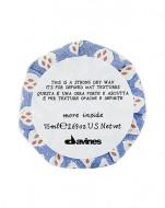 Воск сухой для текстурных матовых акцентов Davines More Inside Strong Dry Wax 75 мл: фото