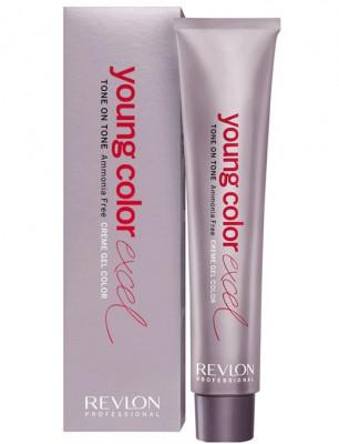 Крем-гель полуперманентный Revlon Professional Young Color Excel 6-65 пурпурно-красный 70 мл: фото