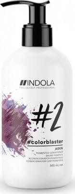 Тонирующий кондиционер Indola Colorblaster Aden фиолетовый 300 мл: фото