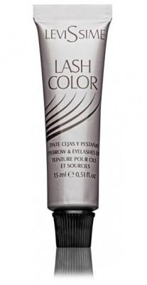 Краска для бровей и ресниц LEVISSIME #1-1 цвет графит 15 мл: фото