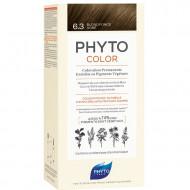 Краска для волос PHYTOSOLBA PHYTO COLOR 6.3 Темный золотистый блонд: фото