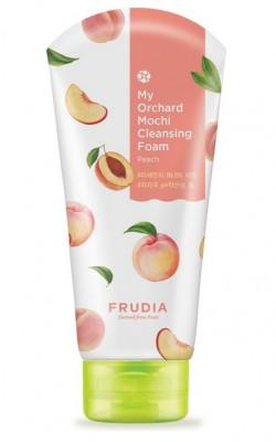 Пенка очищающая с персиком Frudia My Orchard Peach Mochi Cleansing Foam 120мл: фото