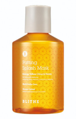 Сплэш-маска для сияния BLITHE Patting Splash Mask Energy Yellow Citrus & Honey 150 мл: фото