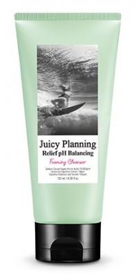 Пенка для чувствительной кожи A'PIEU Juicy Planning Relief PH Balancing Foaming Cleanser 130мл: фото