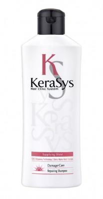 Шампунь восстанавливающий для поврежденных волос KeraSys 180 мл: фото