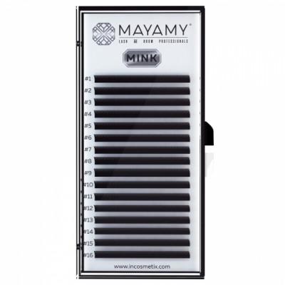 Ресницы MAYAMY MINK 16 линий D 0,07 11 мм: фото