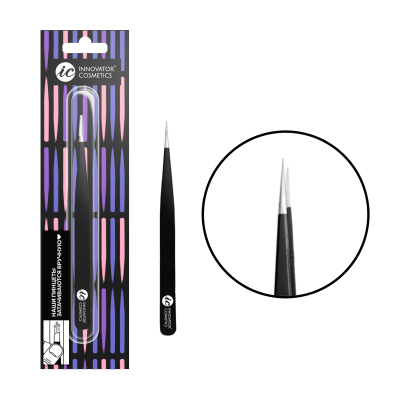 Пинцет для ресниц ручной заточки прямой TS-10: фото