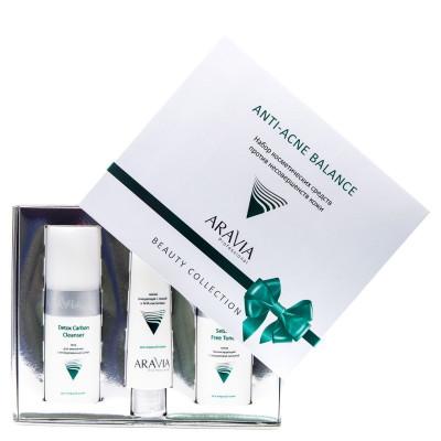 Набор против несовершенств кожи ARAVIA Professional Anti-Acne Balance: фото