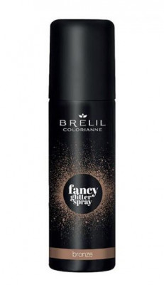 Фантазийный спрей-блеск Brelil Colorianne Fancy Glitter Spray бронзовый 75мл: фото