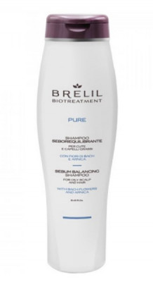 Шампунь для жирных волос BRELIL BIOTREATMENT PURE SEBO BALANCING Shampoo 250мл: фото