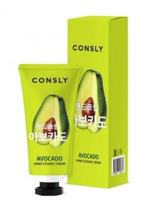 Крем-сыворотка для рук с экстрактом авокадо Consly AVOCADO HAND ESSENCE CREAM 100мл: фото
