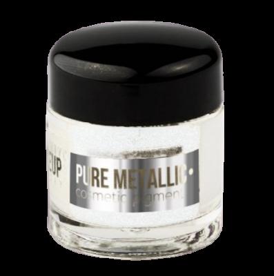 Пигмент PROMAKEUP laboratory PURE METALLIC 12 серебро 2г: фото