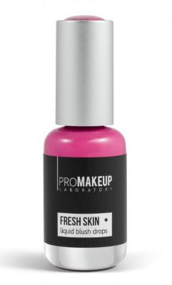Эмульсионные румяна PROMAKEUP laboratory FRESH SKIN liquid blush drops 05 berry 8,5мл: фото