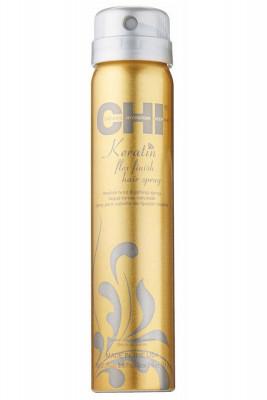 Лак для волос КЕРАТИН средней фиксации CHI Keratin Flex Finish 74 г: фото