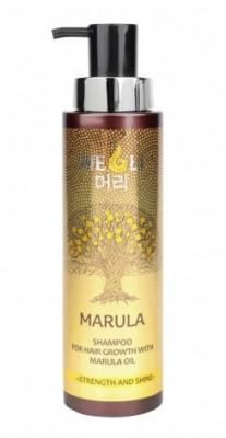 """Шампунь для роста волос с маслом Марулы MEOLI """"Сила и блеск"""" 400мл: фото"""