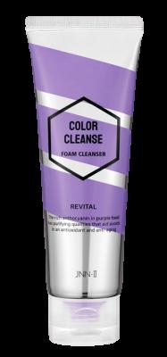 Пенка для умывания витаминизирующая JUNGNANI JNN-II COLOR CLEANSE FOAM CLEANSER REVITAL 100мл: фото
